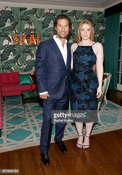 Actors Matthew McConaughey and Bryce Dallas Howard attend as The Weinstein Company celebrates the cast and filmmakers of Sing Street Lion The Founder...