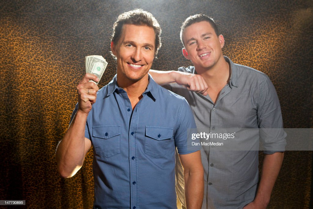 Actors Matthew McConaughey and Channing Tatum are photographed for USA Today on June 23, 2012 in Los Angeles, California. PUBLISHED