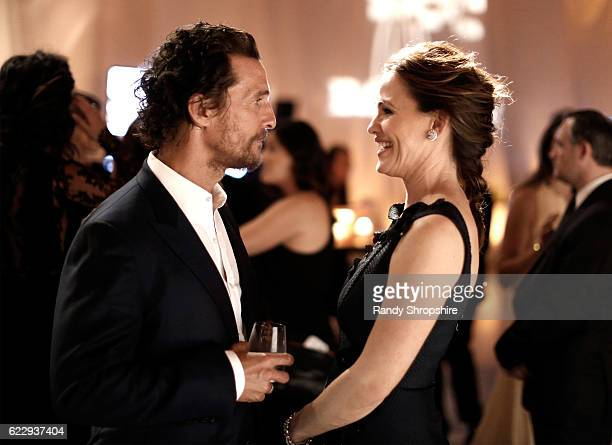Actors Matthew McConaughey and Jennifer Garner attend the Fifth Annual Baby2Baby Gala Presented By John Paul Mitchell Systems at 3LABS on November 12...