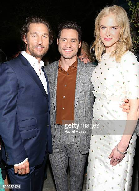 Actors Matthew McConaughey Edgar Ramirez and Nicole Kidman attend as The Weinstein Company celebrates the cast and filmmakers of Sing Street Lion The...