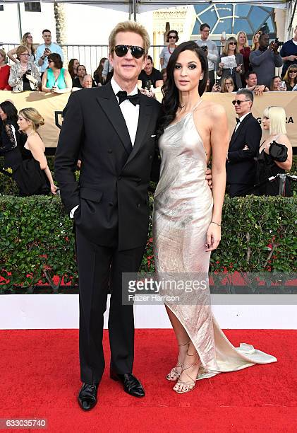 Actors Matthew Modine and Ruby Modine attend The 23rd Annual Screen Actors Guild Awards at The Shrine Auditorium on January 29 2017 in Los Angeles...