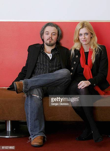 Actors Matthew Newton and Gracie Otto pose during the program launch for the Sydney Film Festival at Customs House on May 8, 2008 in Sydney,...