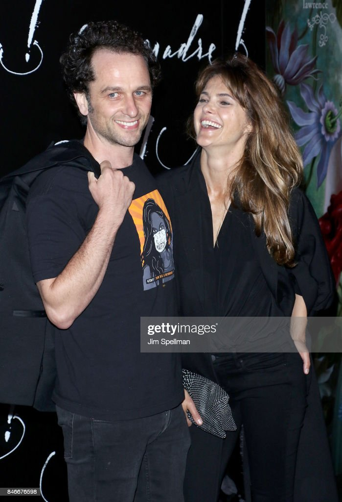 Actors Matthew Rhys and Keri Russell attend the 'mother!' New York premiere at Radio City Music Hall on September 13, 2017 in New York City.