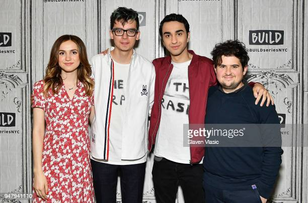 Actors Maude Apatow Alex Wolff Asa Butterfield and director/screenwriter Peter LivolsiÊvisit Build Series to discuss The House of Tomorrow at Build...