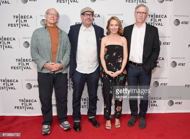 Actors Max Gail Terry Kinney Amy Ryan and Steve Coulter attend the Abundant Acreage Available Premiere during 2017 Tribeca Film Festival at Cinepolis...