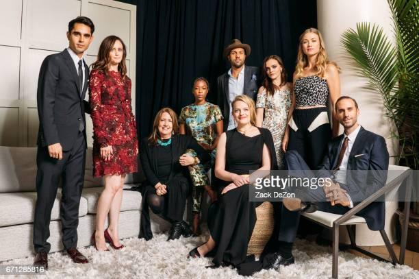 Actors Max Minghella, Alexis Bledel, Ann Dowd, Samira Wiley, O-T Fagbenle, Elisabeth Moss, Madeline Brewer, Yvonne Strahovski, and Joseph Fiennes...