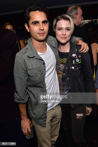 Actors Max Minghella and Evan Rachel Wood at the Jackie TIFF party hosted by GREY GOOSE Vodka and Soho House Toronto on September 11 2016 in Toronto...