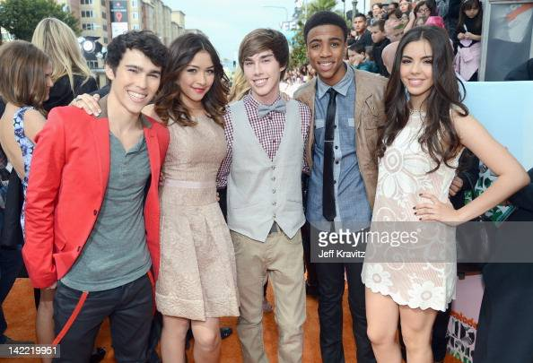 Actors Max Schneider, Lulu Antariksa, Noah Crawford, Chris ...