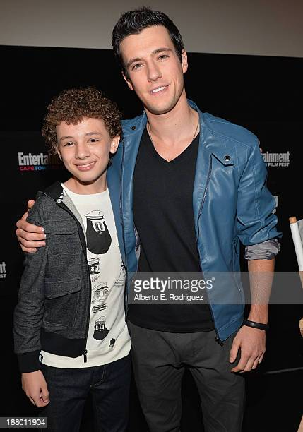 Actors Maxim Knight and Drew Roy attend Entertainment Weekly's CapeTown Film Festival presented by The American Cinematheque and sponsored by TNT's...