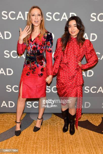 Actors Maya Erskine and Anna Konkle attend the Pen15 press junket during SCAD aTVfest 2019 at Four Seasons Hotel on February 8 2019 in Atlanta Georgia