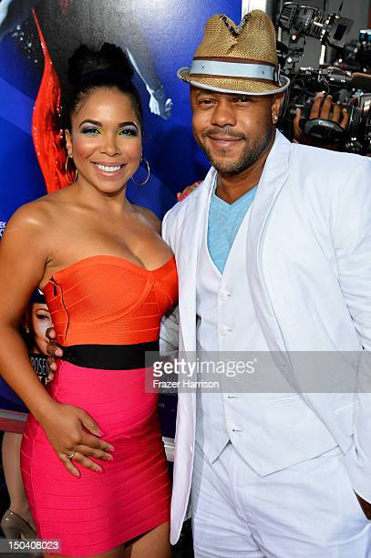Actors Maya Gilbert and Rockmond Dunbar arrive at TriStar Pictures' Sparkle premiere at Grauman's Chinese Theatre on August 16 2012 in Hollywood...