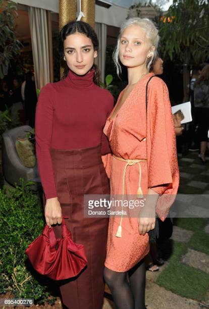Actors Medalion Rahimi and Delilah Parillo at Max Mara Celebrates Zoey Deutch The 2017 Women In Film Max Mara Face of the Future at Chateau Marmont...