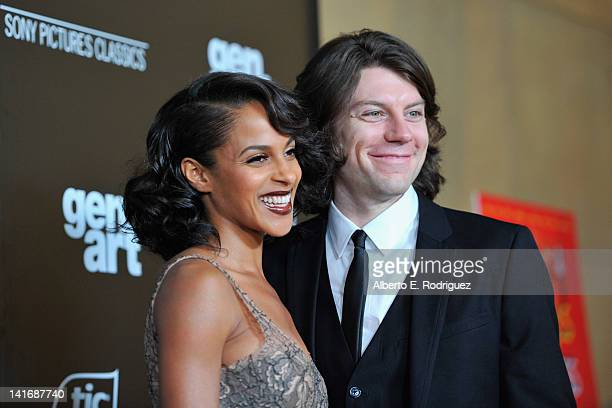 Actors Megalyn Echikunwoke and Patrick Fugit arrive to the Premiere of Sony Pictures Classics' Damsels In Distress at the Egyptian Theatre on March...