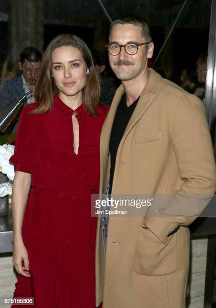 Actors Megan Boone and Ryan Eggold attend the after party for the screening of Sony Pictures Classics' 'Call Me By Your Name' hosted by Calvin Klein...