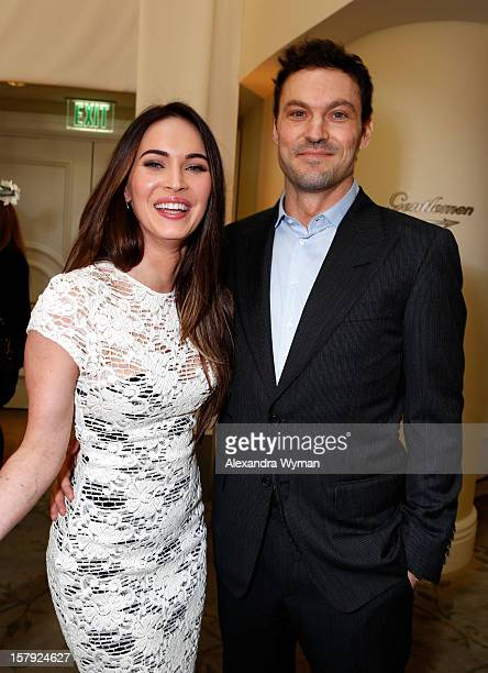 Actors Megan Fox and Brian Austin Green attend the 7th Annual March of Dimes Celebration of Babies, a Hollywood Luncheon, at the Beverly Hills Hotel...