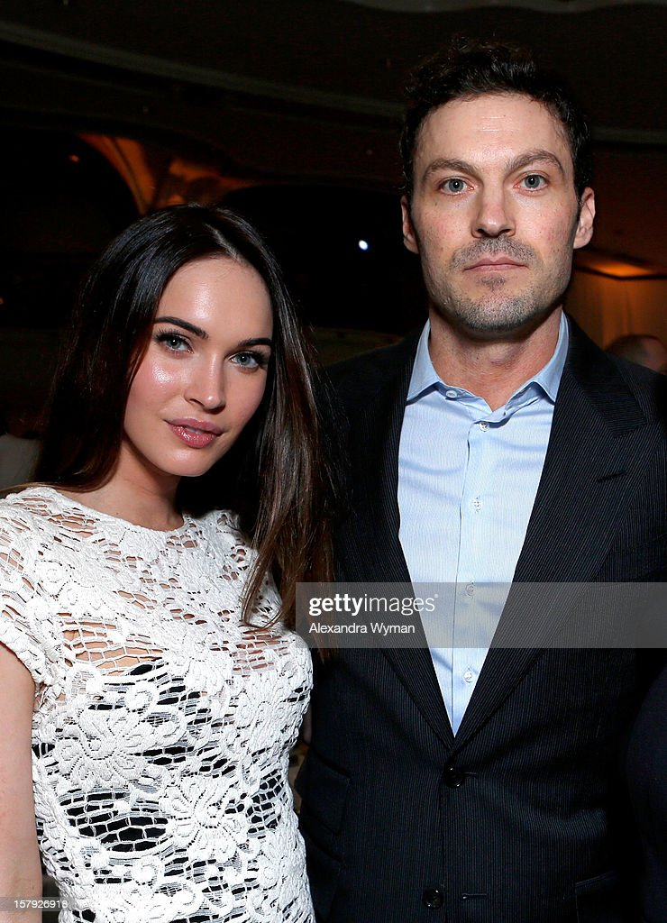 Actors Megan Fox and Brian Austin Green attend the 7th Annual March of Dimes Celebration of Babies, a Hollywood Luncheon, at the Beverly Hills Hotel on December 7, 2012 in Beverly Hills, California.