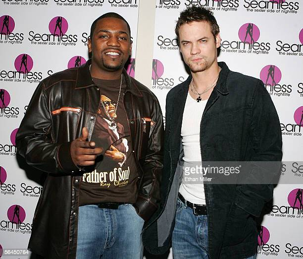 Actors Mekhi Phifer and Shane West both currently on the television show ER arrive at the grand opening of the Seamless Adult Ultra Lounge early...