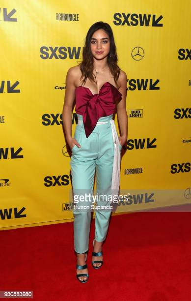 Actors Melissa Barrera attends the premiere of Vida during SXSW at Vimeo on March 11 2018 in Austin Texas