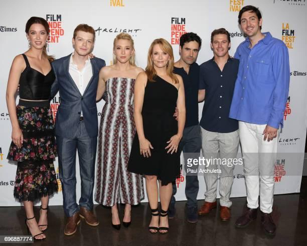 Actors Melissa Bolona Cameron Monaghan Madelyn Deutch Lea Thompson Jesse Bradford Zach Roerig and Nicholas Braun attend the 2017 Los Angeles Film...