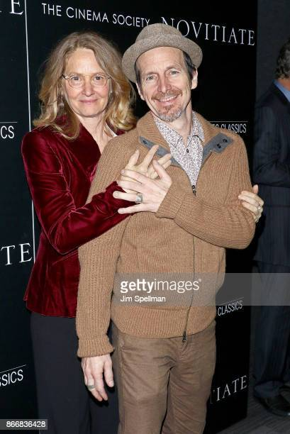Actors Melissa Leo and Denis O'Hare attend the screening of Sony Pictures Classics' 'Novitiate' hosted by Miu Miu and The Cinema Society at The...