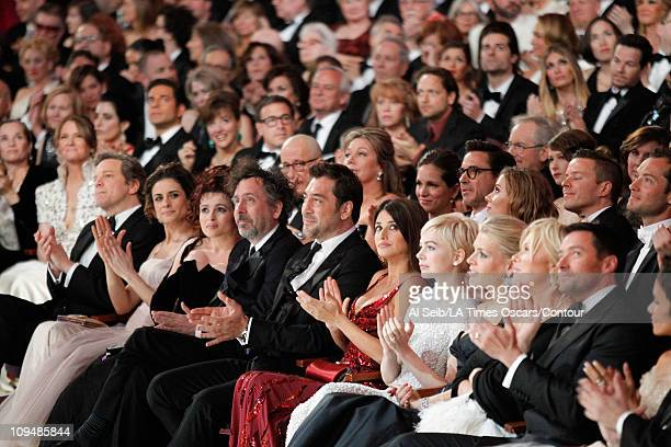 Actors Melissa Leo Colin Firth Livia Giuggioli Helena Bonham Carter Director Tim Burton Javier Bardem Penelope Cruz Michelle Williams Busy Philipps...