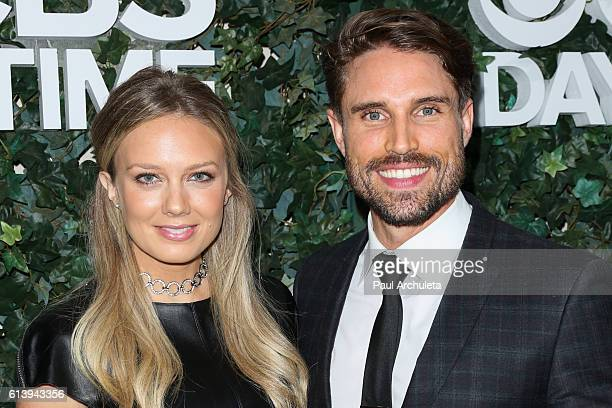 Actors Melissa Ordway and Justin Gaston attend the CBS Daytime For 30 Years celebration at The Paley Center for Media on October 10 2016 in Beverly...