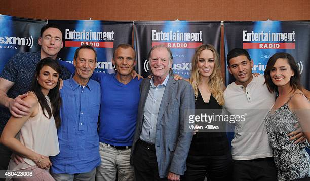 Actors Mia Maestro Kevin Durand Jonathan Hyde Richard Sammel David Bradley Ruta Gedmintas Miguel Gomez and Natalie Brown attend SiriusXM's...