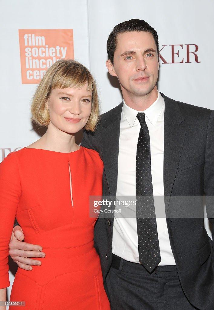 """""""Stoker"""" New York Screening : News Photo"""