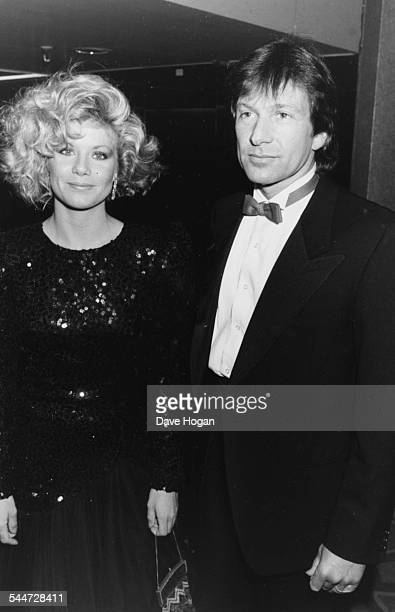 Actors Michael Brandon and Glynis Barber attending the British Phonograph Awards, London, February 10th 1986.