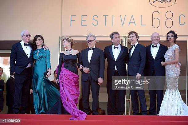 Actors Michael Caine Rachel Weisz Jane Fonda and Harvey Keitel director Paolo Sorrentino and actors Paul Dano Alex Macqueen and Madalina Ghenea...