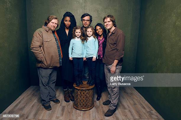 Actors Michael Chernus Jessica Williams Jemaine Clement actress Regina Hall director/writer James C Strouse actresses Gia Gadsby and Aundrea Gadsby...