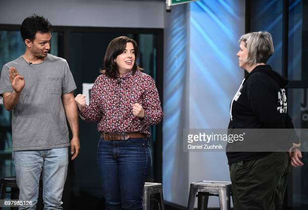 Actors Michael Cruz Kayne Abra Tabak and Shannon O'Neill members of the Upright Citizens Brigade Theatre visit Build to discuss 'The Del Close...