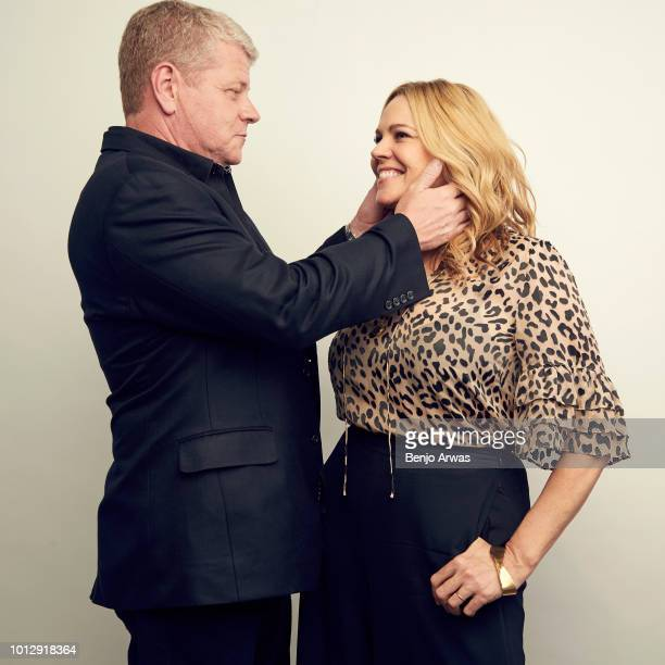 Actors Michael Cudlitz and Mary McCormack of ABC's 'The Kids Are Alright' pose for a portrait during the 2018 Summer Television Critics Association...
