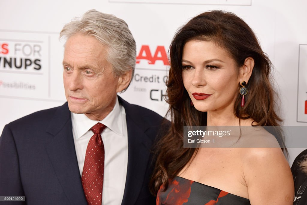 Swimming pictures of michael douglas and wife naked
