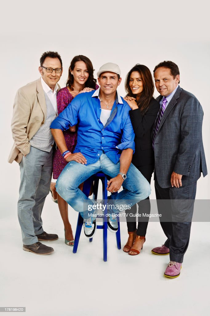 Cast of Person of Interest, TV Guide Magazine, Comic Con 2013