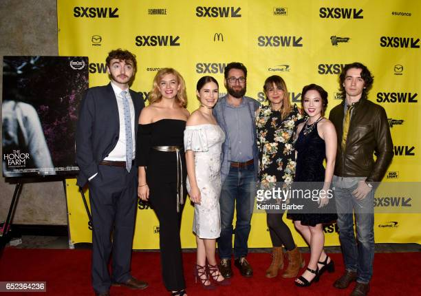 Actors Michael Eric Reid Katie Folger Olivia Grace Applegate producer David Hartstein writer/director Karen Skloss actors Josephine McAdam and Liam...