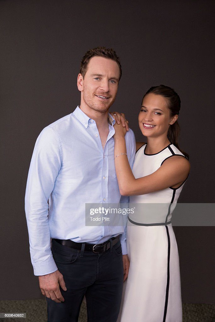 Michael Fassbender and Alicia Vikander, USA Today, September 2, 2016