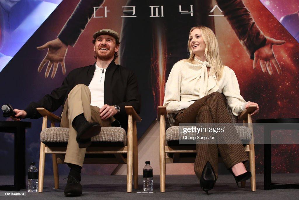 """KOR: """"X-Men: Dark Phoenix"""" in Seoul - Press Conference"""