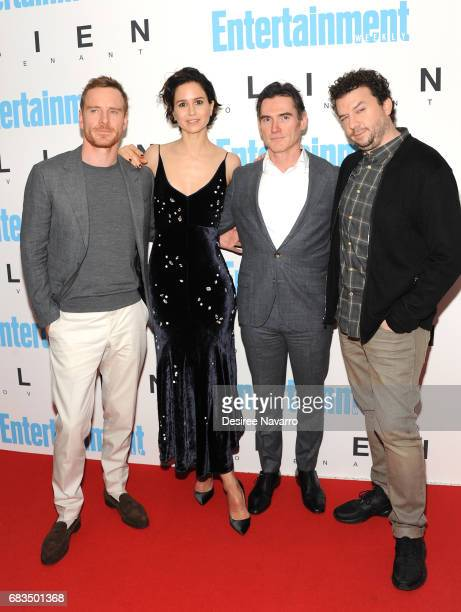 Actors Michael Fassbender Katherine Waterston Billy Crudup and Danny McBride attend 'Alien Covenant' Special Screening at Entertainment Weekly on May...