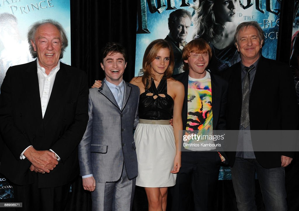 'Harry Potter And The Half-Blood Prince' Premiere - Inside Arrivals : News Photo
