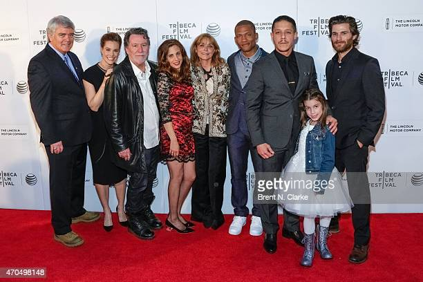 Actors Michael Harney Ashley Williams director/cowriter Mark Kemble actors Iris Gilad Karen Allen Calvin Dutton Theo Rossi Gia Longo and Johnny...