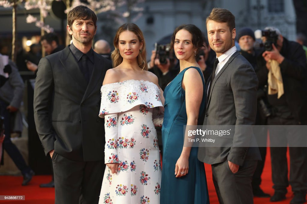 'The Guernsey Literary And Potato Peel Pie Society' World Premiere - Red Carpet Arrivals : News Photo