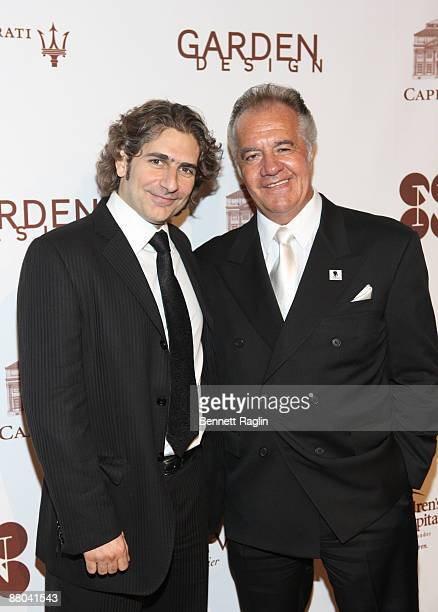 Actors Michael Imperioli and Tony Sirico attend the 2009 Chocolat au Vin benefiting St Jude's Children's Research Hospital at Capitale on May 28 2009...