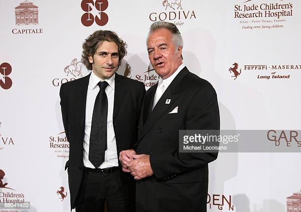 Actors Michael Imperioli and Tony Sirico attend the 'Chocolat au Vin' benefit for St Jude's Children's Research Hospital at Capitale on May 28 2009...