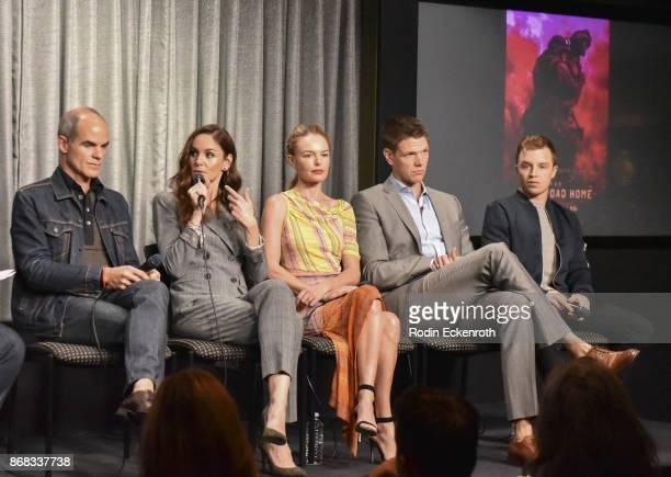 Actors Michael Kelly Sarah Wayne Callies Kate Bosworth Jon Bevers and Noel Fisher speak onstage at SAGAFTRA Foundation Conversations screening of...