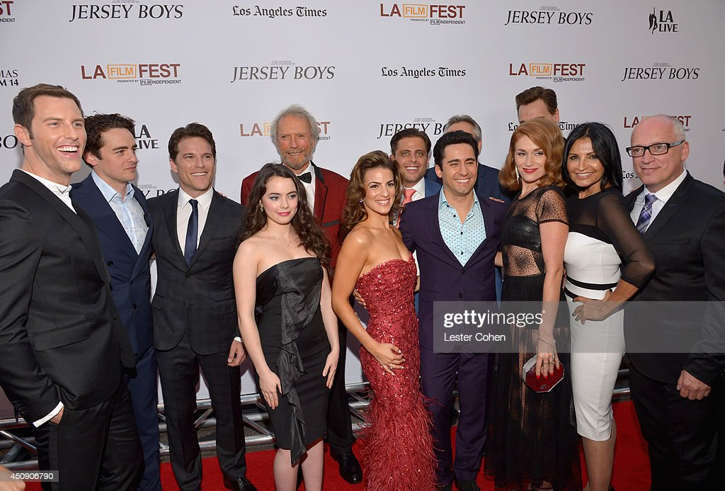 """2014 Los Angeles Film Festival - Premiere of Warner Bros. Pictures' """"Jersey Boys"""" - Red Carpet : News Photo"""