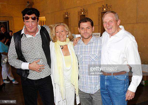 Actors Michael Madsen Jayne Atkinson Jason James Richter and director Simon Wincer attend Free Willy 20th Anniversary Celebration at the Egyptian...