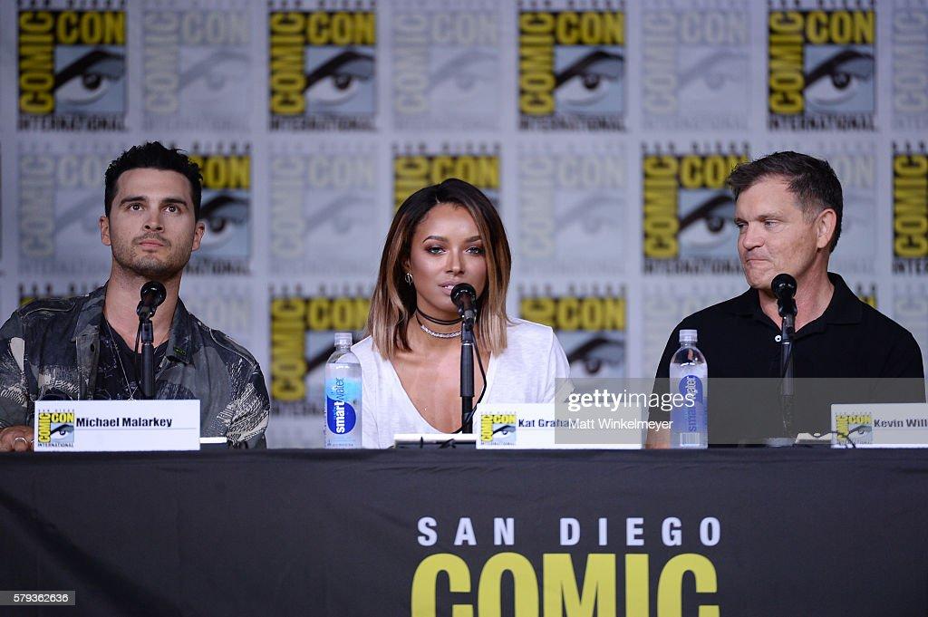 Comic-Con International 2016 - 'The Vampire Diaries' Panel : News Photo