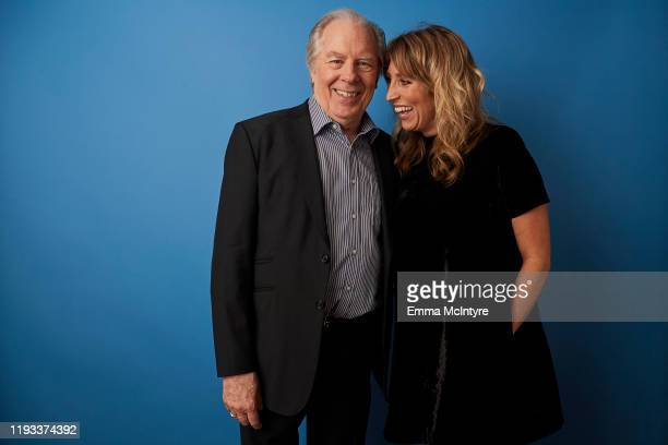 """Actors Michael McKean and Daisy Haggard of FX's """"Breeders"""" pose for a portrait during the 2020 Winter TCA at The Langham Huntington, Pasadena on..."""