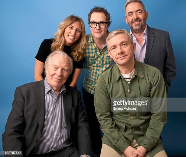 Actors Michael McKean, Daisy Haggard, Co-Creator/EP/Writer Chris Addison, Co-Creator/EP/Actor Martin Freeman, and Co-Creator/EP/Writer Simon...